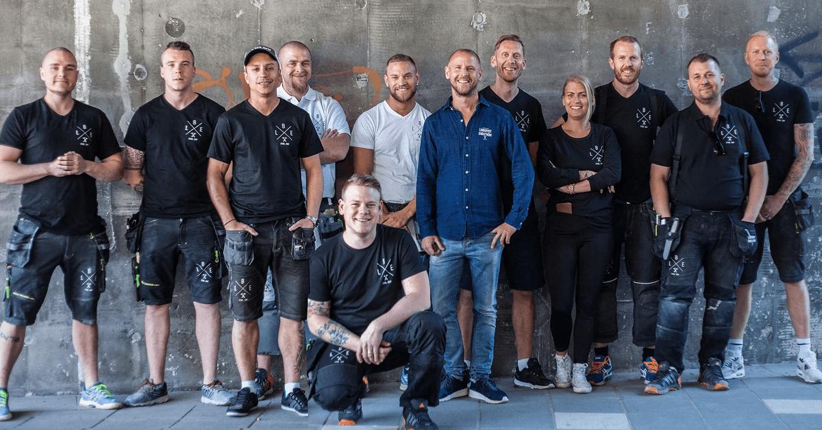 Lindqvist og Engstrom kundehistorie Bygglet