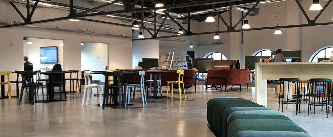 Bygglet expanderar och huvudkontoret flyttar till ny häftig lokal